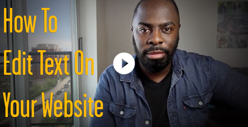 How to Edit Text on Your Website
