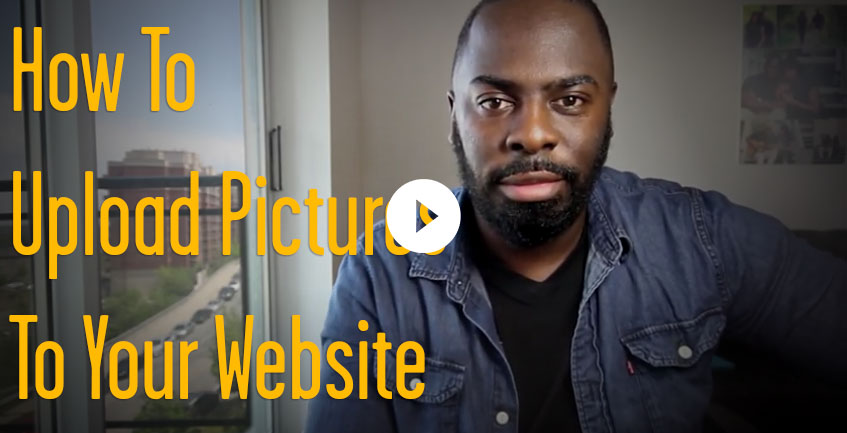 How to Upload Pictures to Your  Website
